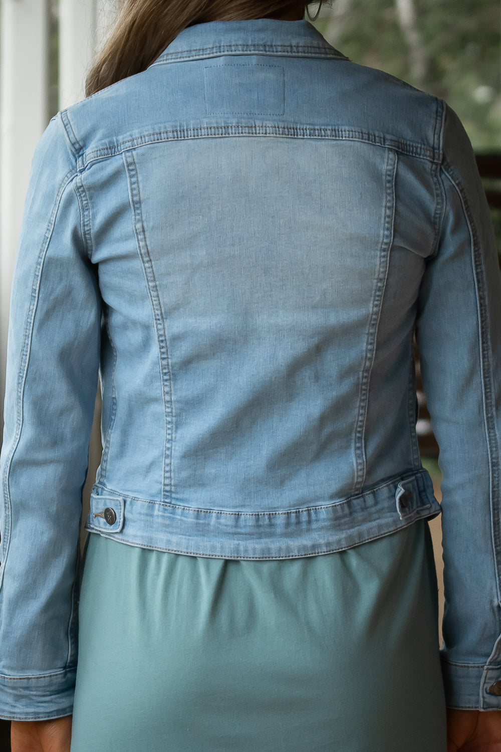 Lizzie Jacket in Light Denim