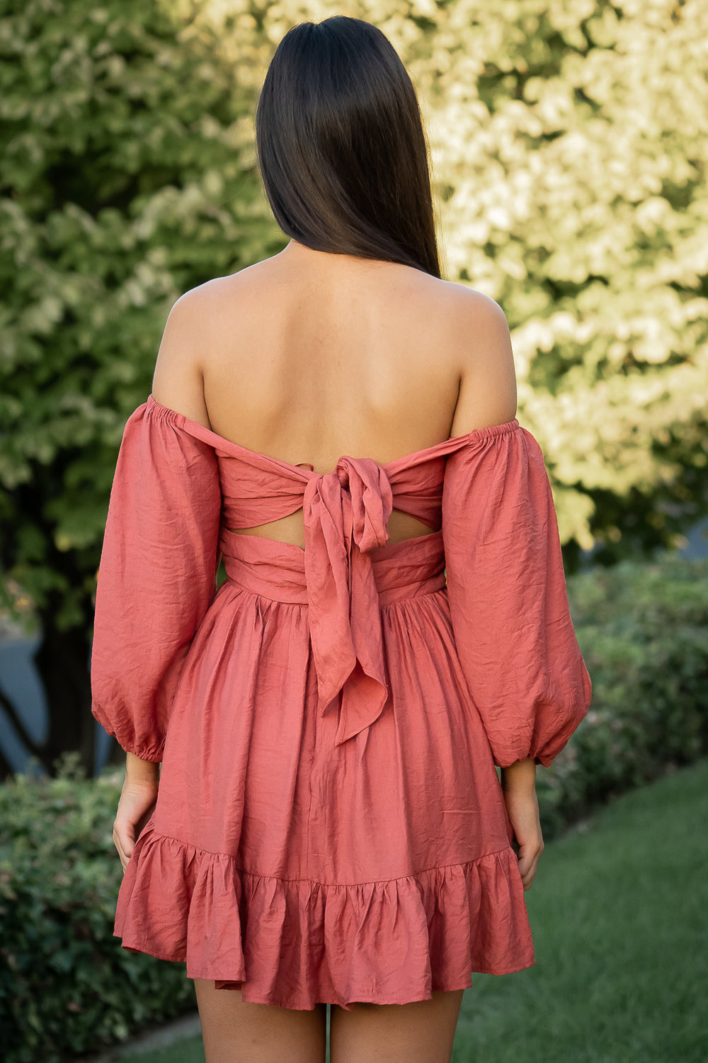 Kasia Dress in Rose