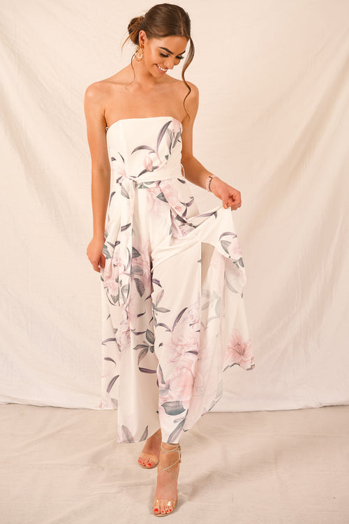 Laguna Jumpsuit in White