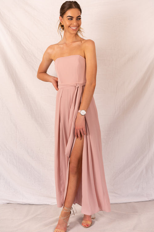 Robbie Jumpsuit in Soft Pink