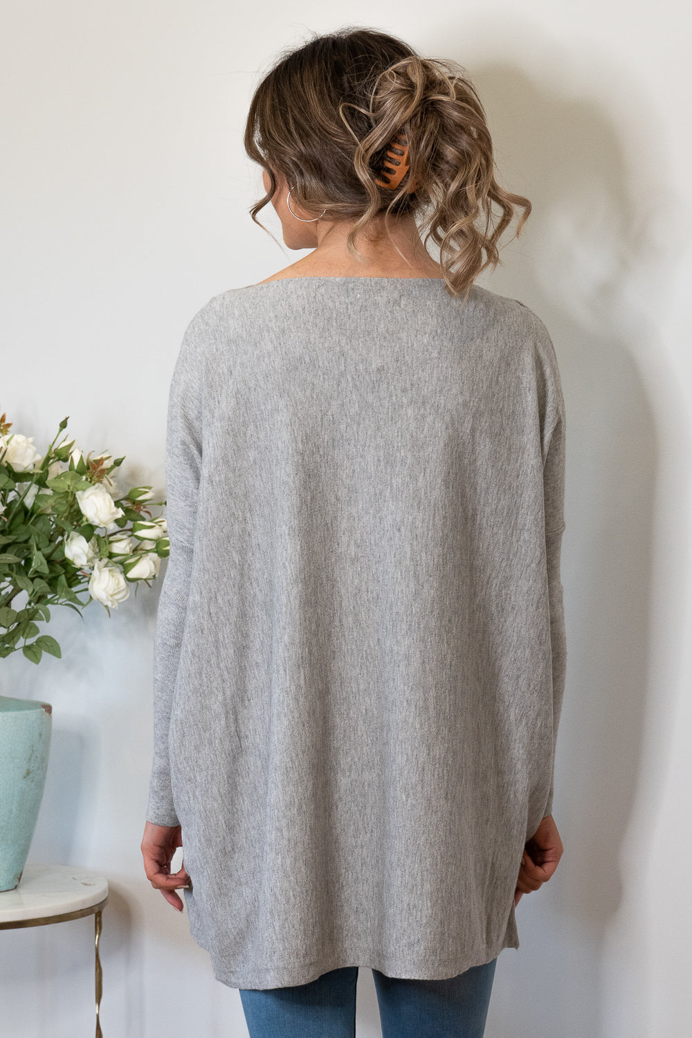 Terese Jumper in Grey