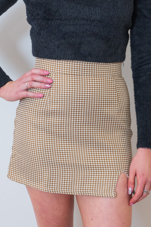 Indy Skirt in Tan