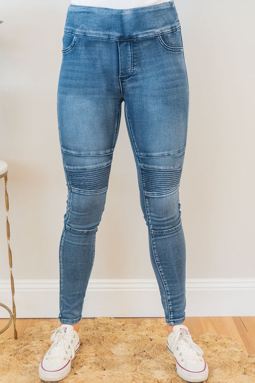 Natalya Jeans in Mid Denim