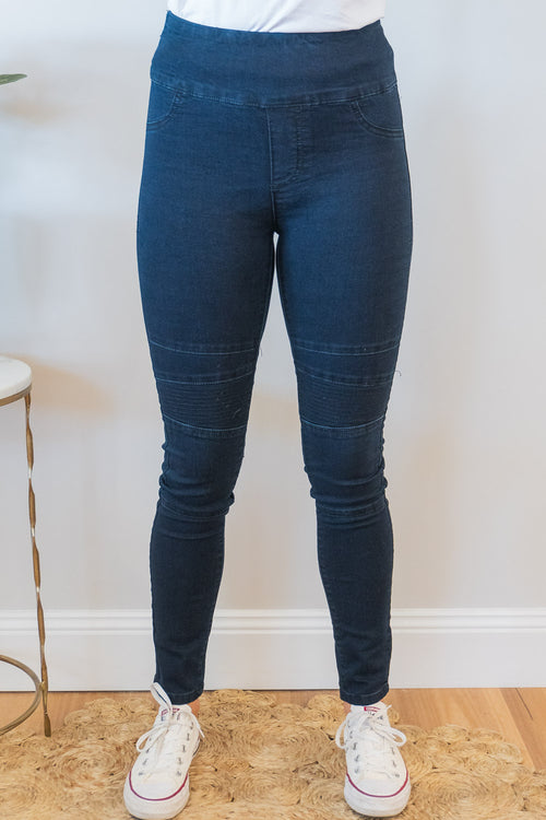 Adeline Jeans in Navy