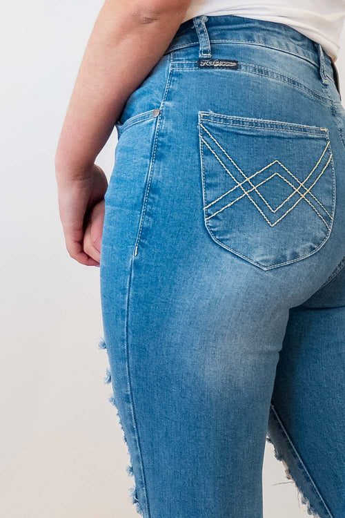 Parker Jeans in Mid Denim