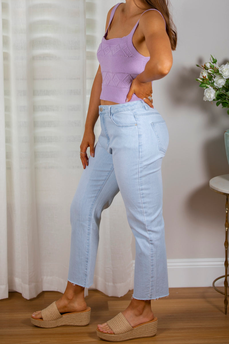 Petra Jeans In Light Denim