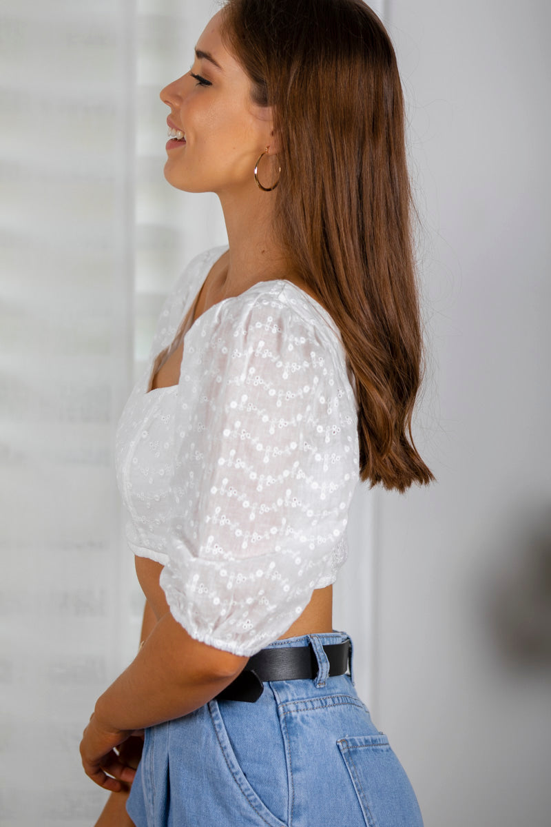 Destiny Top in White