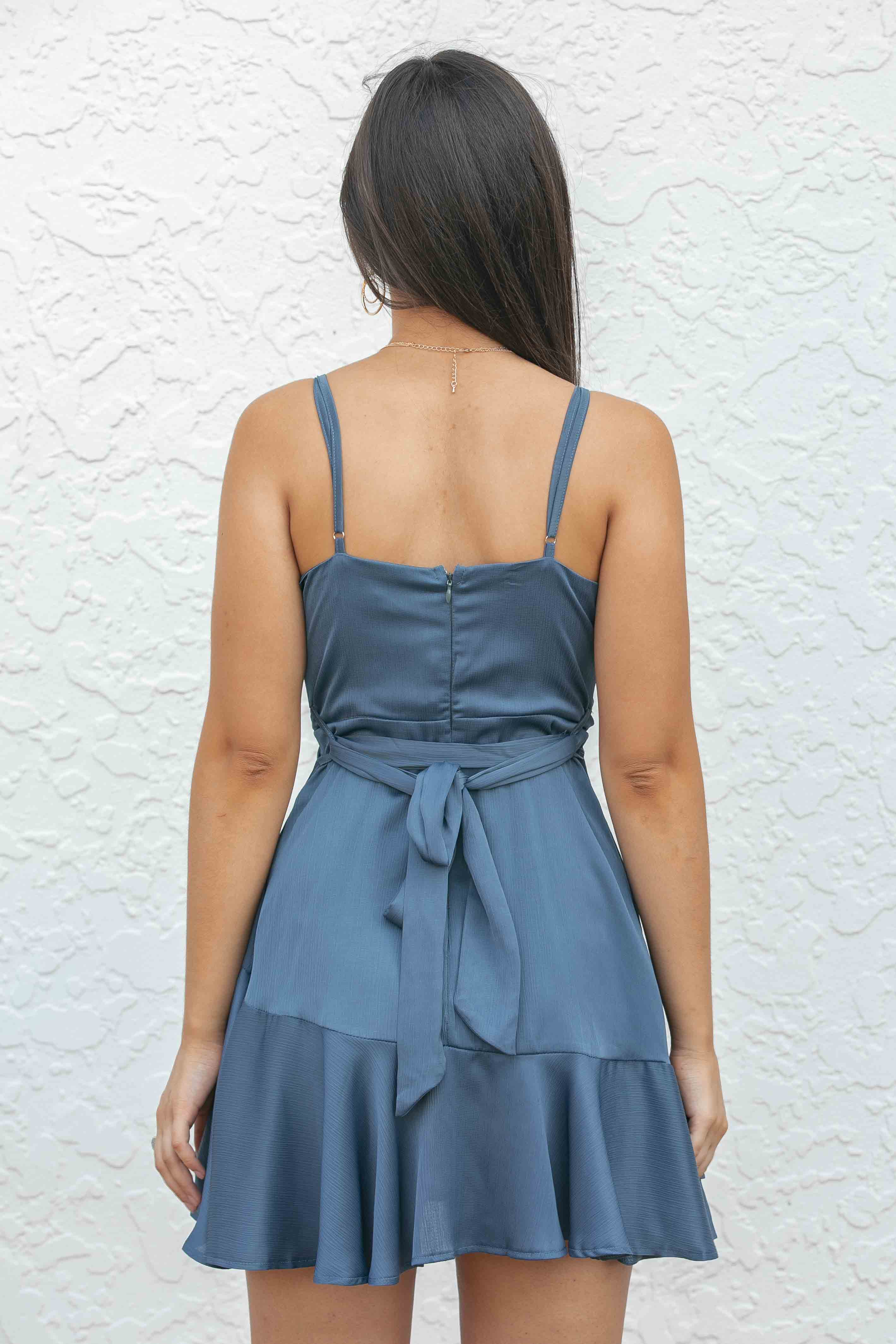 Koda Dress in Midnight Blue