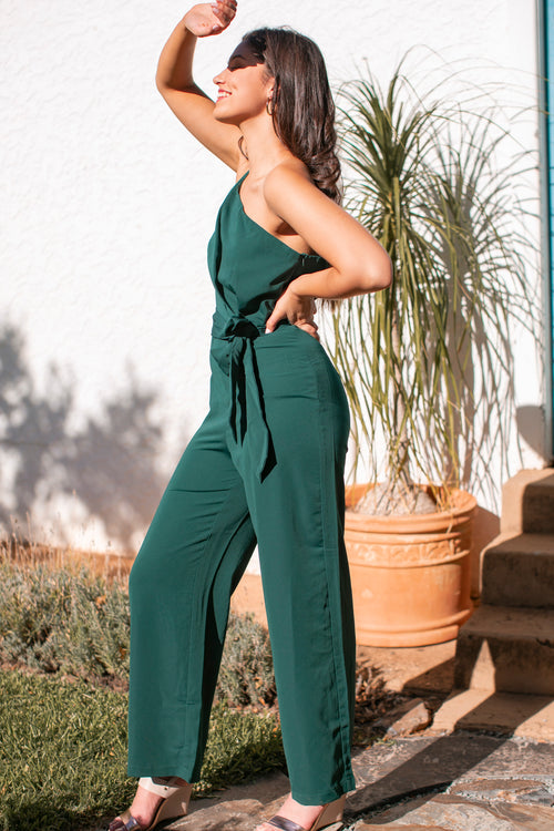 Gabrielle Jumpsuit in Teal