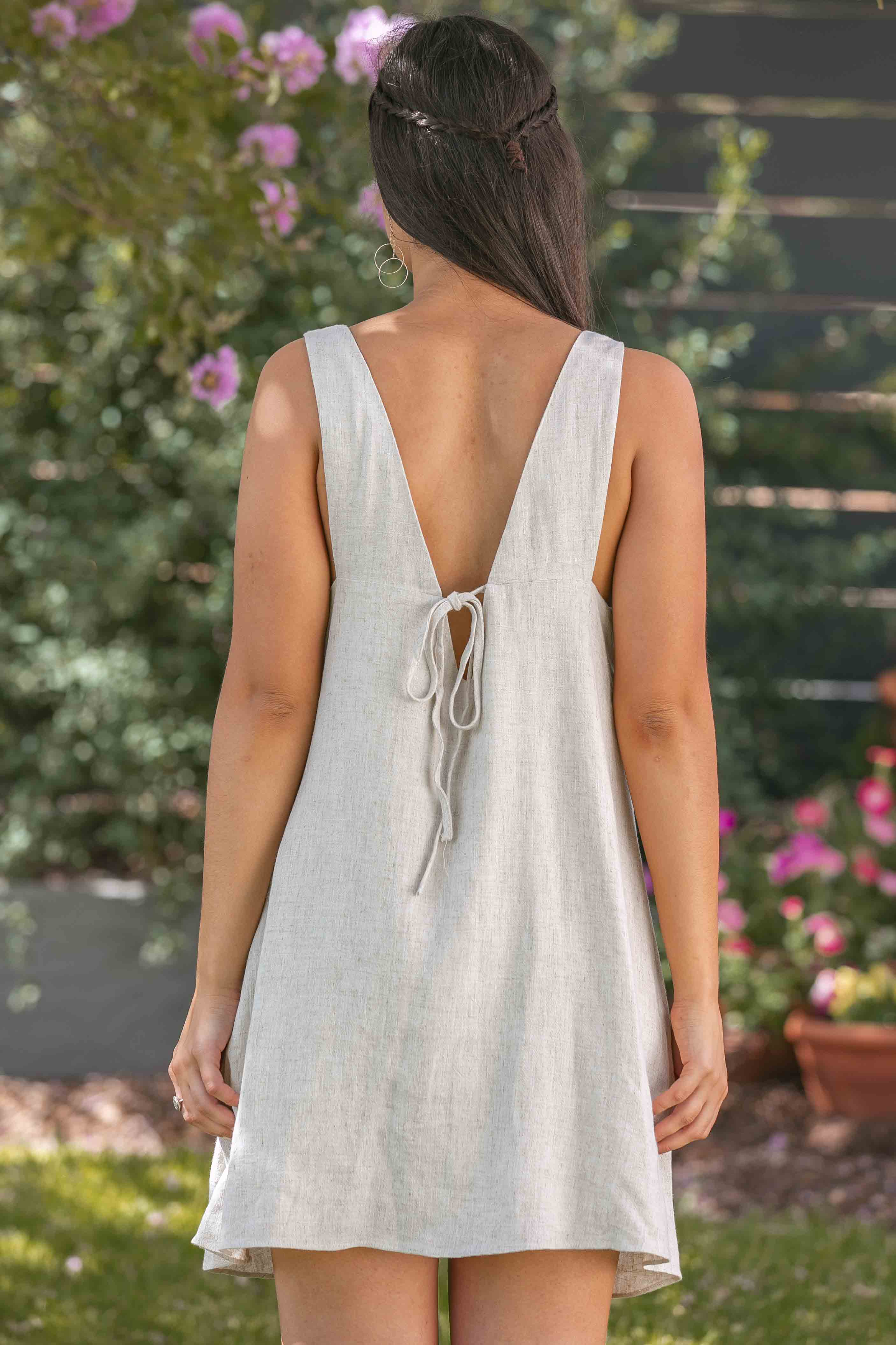 Zoey Dress in Sand