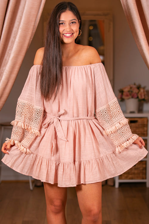 Heidi Dress in Blush