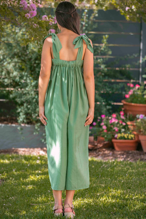 Pat Jumpsuit in Green