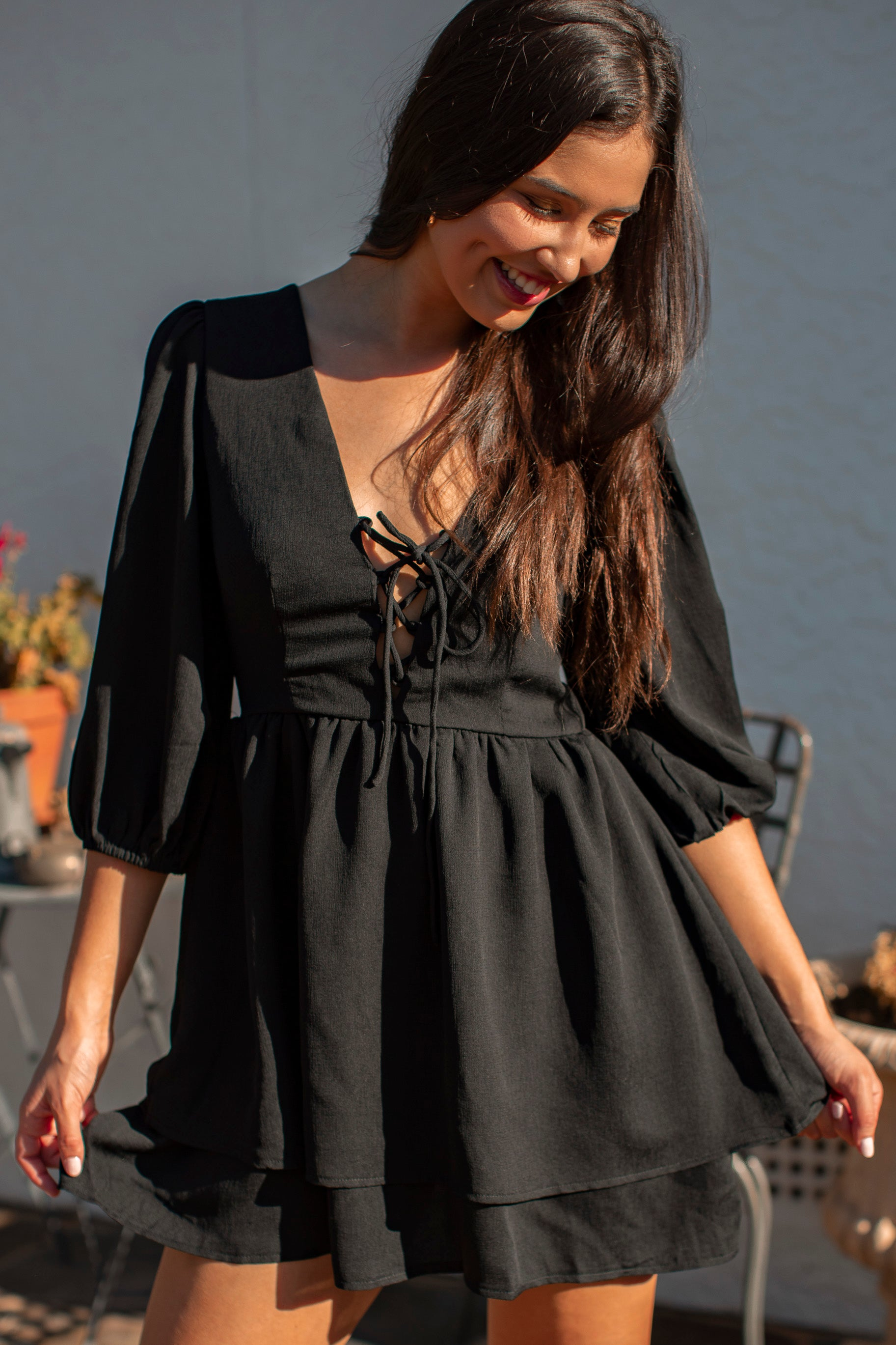Kendra Dress in Black