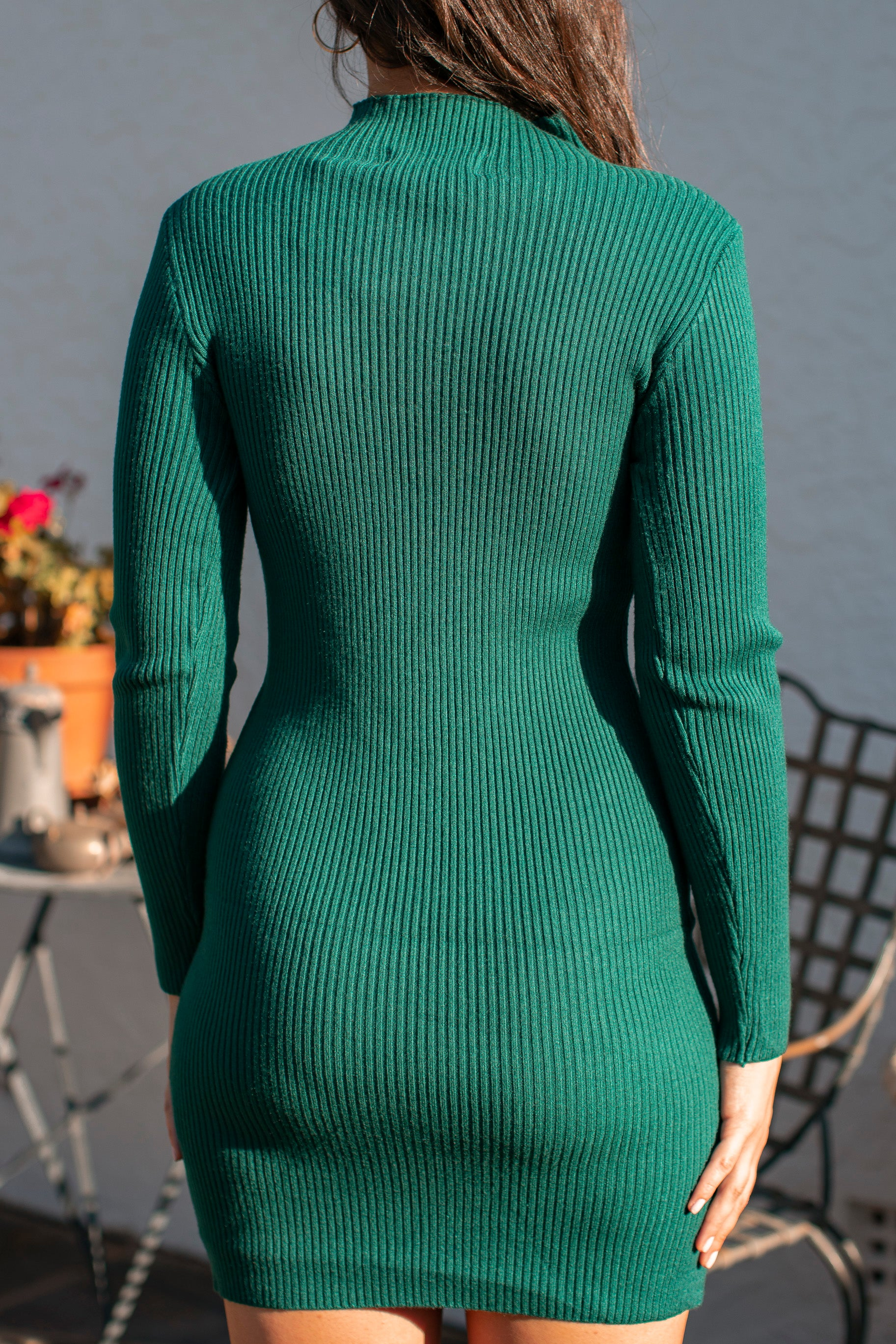 Anna Dress in Jade