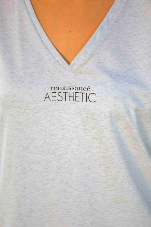 Aesthetic Tee in Grey