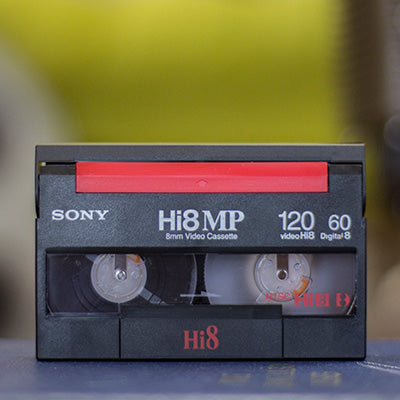 Hi8 video cassette tape