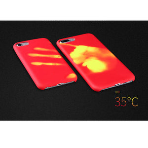 Magical Color Change Thermal Sensor Phone Case for iPhone X/XS/XS Max/XR