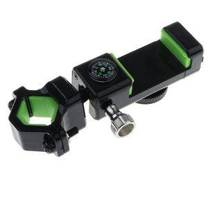 Bicycle Phone Holder Compass Flashlight
