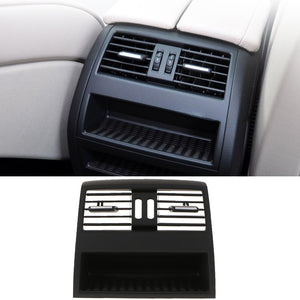 Rear Center Console Fresh Air Outlet Vent Grill Cover For BMW 5 F10 F11