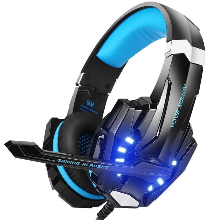 KOTION EACH G9000 3.5mm Gaming Headset for PC PS4 XBox One with Mic LED Light