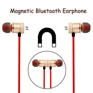 M9 Wireless Magnetic Earbuds Headphone