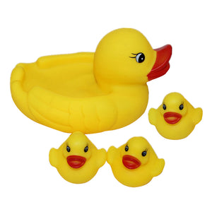 Yellow Duck Bath Toys for Baby Kids