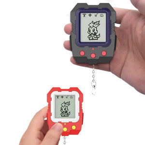 Cute LCD Virtual Digital Pet Electronic Game Machine with Keychain