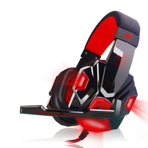 KOTION EACH PC 780 Bass Gaming Headsets Luminous Headphones with Mic