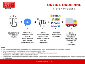 Robi & Peach Online Ordering Process for Online Market Place, Taytay Rizal Supplier