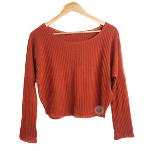 Elsa Round Neck Knitted Long Sleeves (MJ) - Robi & Peach