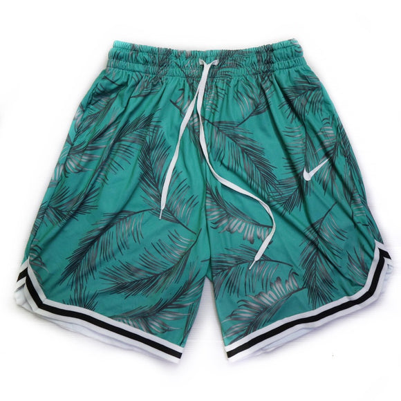 Kyle Printed Dri-Fit Men's Shorts (BZ) - Robi & Peach