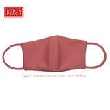Robi & Peach: Regular Washable Face Mask with Inside Pocket (RV) - Robi & Peach