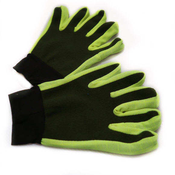 1 Pair Full Finger Cycling Gloves - Robi & Peach