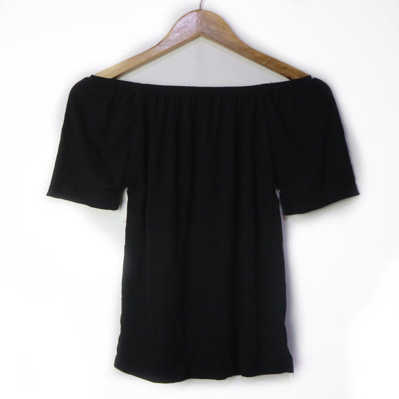 Odette Basic Cotton Off Shoulder Short Sleeves (Bargain)
