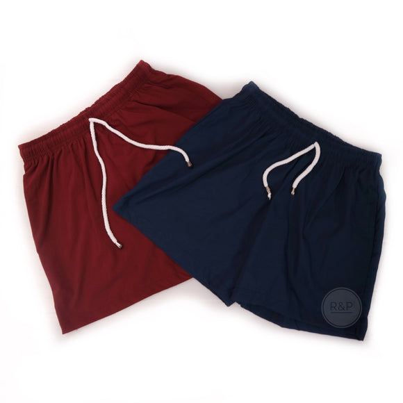 Parker Plain Trainer Shorts (KR) - Robi & Peach