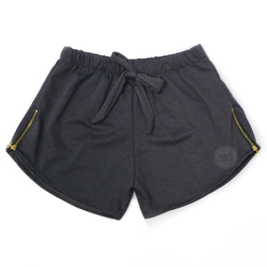 Kier Side Zipper Shorts W (MS) - Robi & Peach