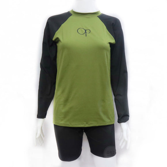 Drew Unisex Rash Guard (MT) - Robi & Peach