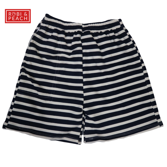Andrei Stripes Men's Shorts (AG) - Robi & Peach