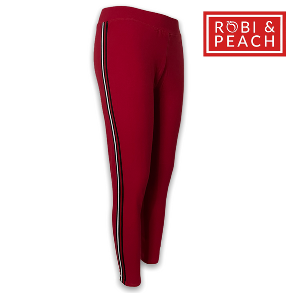 Robi & Peach Plain Tracker Leggings for Women - Robi & Peach