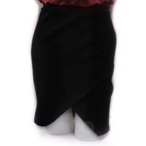 Yeng Overlap Pencil Skirt (CN)