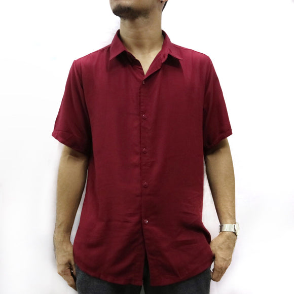 Joshua - Plain Polo Button Down for Men - Robi & Peach