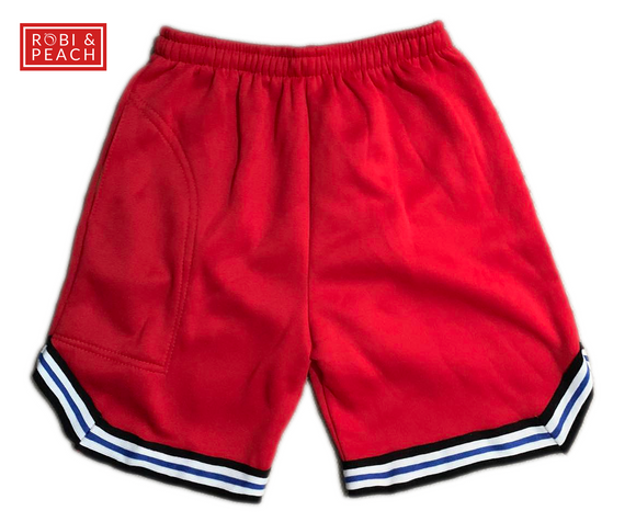 Jose Brass Tape Shorts (STC) - Robi & Peach