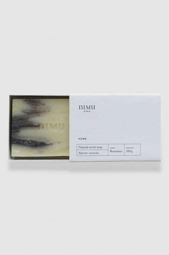 Nimu Roma Rosemary & Clay Handmade Natural Soap
