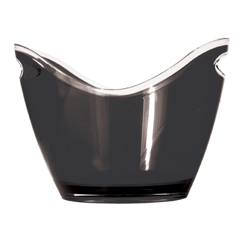 Black Modern Ice Bucket