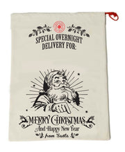 Personalized Christmas Gift Sack