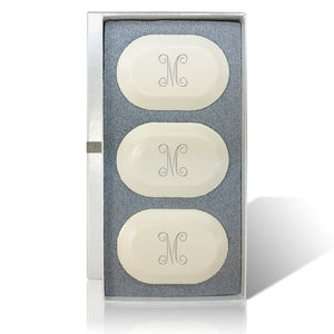 Personalized Soap Bar Set of 3