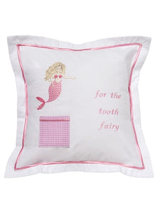 Embroidered Tooth Fairy Pillow