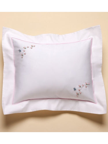 Embroidered Baby Boudoir Pillow