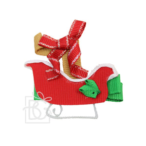 Christmas Ribbon Clip Bows