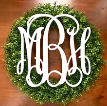 Premium faux Boxwood Wreath